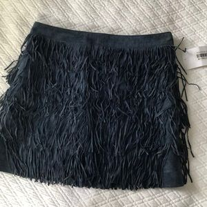NWT Michael Kors Tiered Fringe Skirt